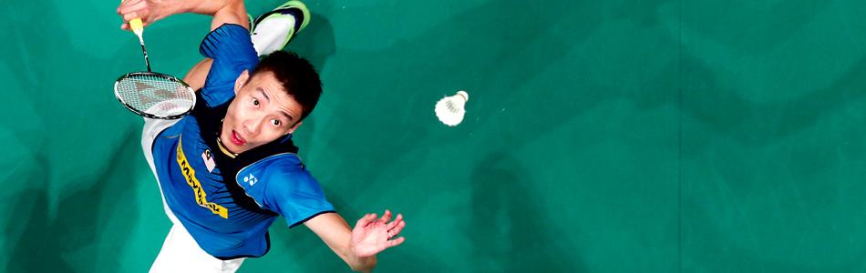 Badminton spullen